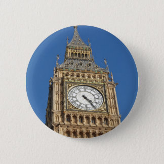 Big Ben London 6 Cm Round Badge