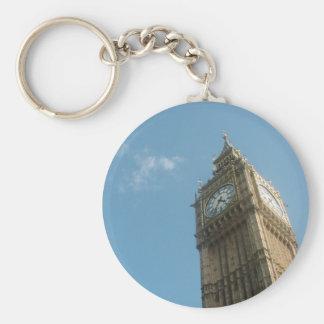 Big Ben - London Basic Round Button Key Ring
