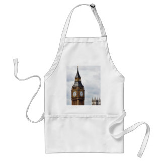 Big Ben London Clock Towers And Westminster Abbey Apron