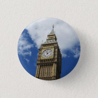 Big Ben, London, England 3 Cm Round Badge