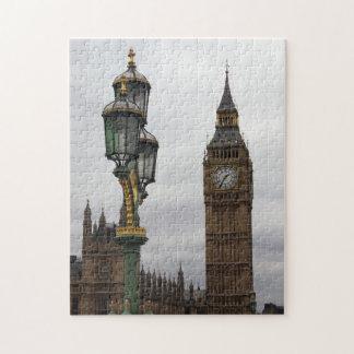 Big Ben - London - Lamp Post - Puzzle