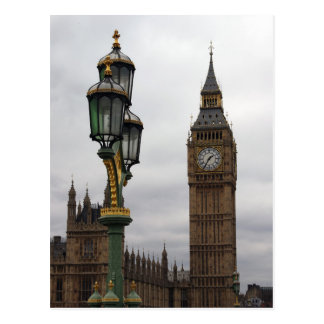 Big Ben - London - Postcard