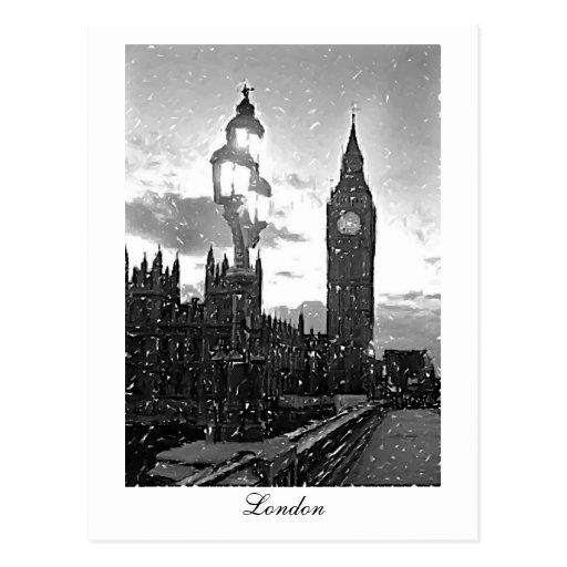 Big Ben, London Post Card