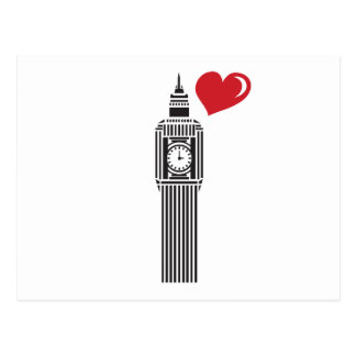BIG BEN LONDON POSTCARD