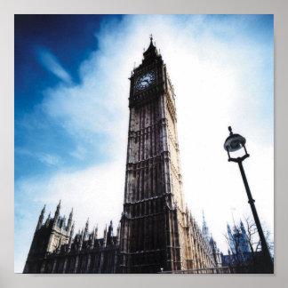 Big ben london poster