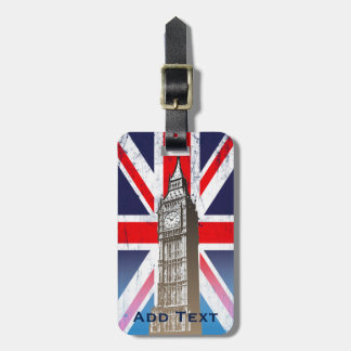Big Ben - London, U.K. Luggage Tag