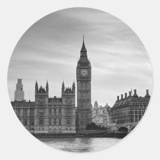 Big Ben Monochrome Stickers
