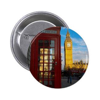 Big Ben Phone Box Pin