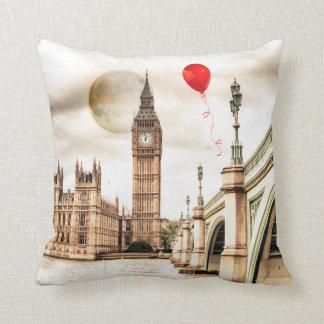 Big Ben RED accent pillow
