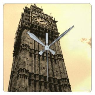 Big Ben Square Wall Clock