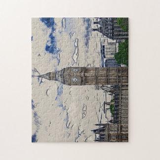 Big Ben tower Jigsaw Puzzle