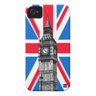 Big Ben Union Jack Blackberry Bold Case
