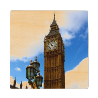 Big Ben Wood Coaster