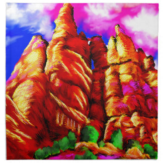 Big bend2 napkin
