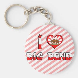 Big Bend, CA Key Chains