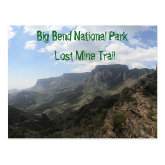 Big Bend National Park Postcard