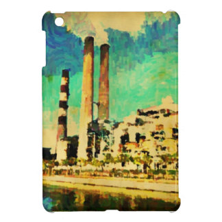Big Bend power plant painting ipad cover