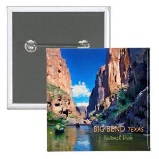 Big Bend Texas National Park Mariscal Canyon 15 Cm Square Badge