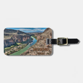 Big Bend Texas National Park Rio Grande Luggage Tag