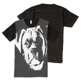 Big, Big Dog All-Over Print T-Shirt