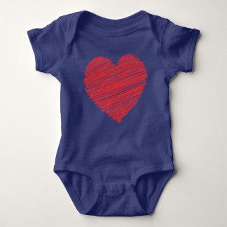 Big Big Heart Baby Bodysuit