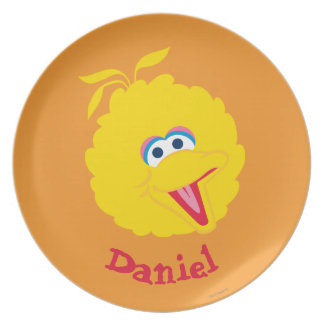 Big Bird Face | Add Your Name Plates