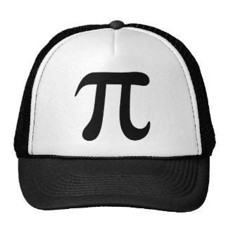 Big black pi symbol hat or cap