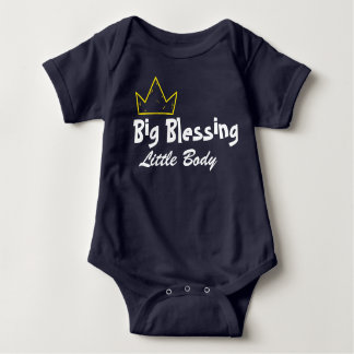 Big Blessing Baby Bodysuit