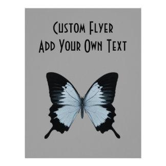 Big Blue & Black Butterfly Flyers
