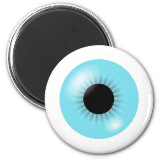 Big Blue Eyeball magnet