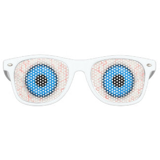 Big Blue Eyes Party Shades by Julie Everhart