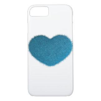 Big Blue Heart. iPhone 8/7 Case