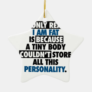 Big Body Awesome Personality Ceramic Ornament