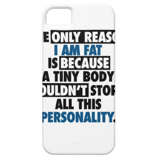 Big Body Awesome Personality iPhone 5 Cover