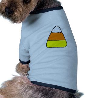 Big Bold Candy Corn Ringer Dog Shirt