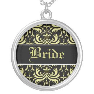 Big Bold Damask (Gold) (Wedding) Necklace