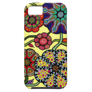 Big Bold Flowers - Vibe iPhone 5 Phone Case