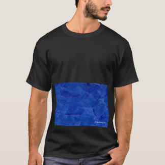 Big Bold Graphic Dark Blue Tshirt