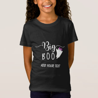Big Boo Funny Halloween Ghost Siblings T-Shirt