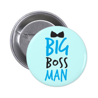 Big boss man nice Bossy design with a bow tie Pins