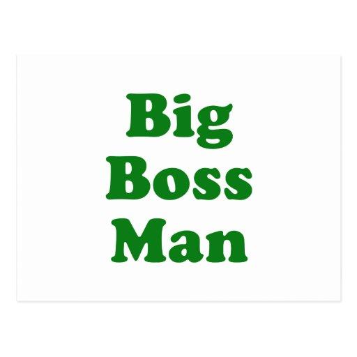 Big Boss Man Post Cards