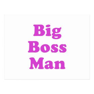 Big Boss Man Post Card