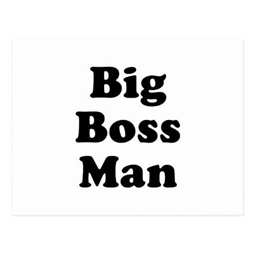 Big Boss Man Postcards