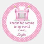 Big Bouncy Bounce House Birthday Thank You Sticker