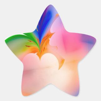 Big Bow Gift Box Star Sticker