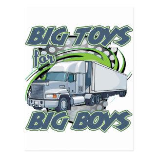 Big Boys Trucking Postcard
