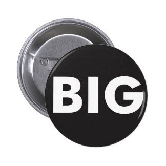 Big Brand Badge Black Button