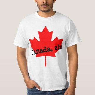 Big Bright Red Maple Leaf Canada eh! T-Shirt