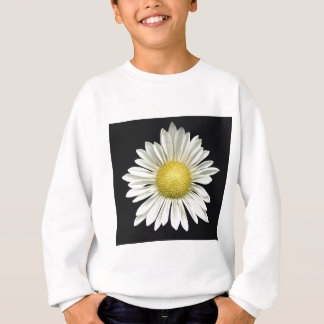 Big Bright White Daisy with Bright Yellow Center Sweatshirt