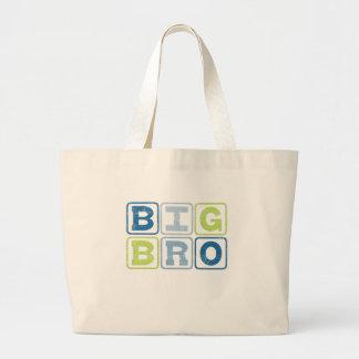 BIG BRO - Big Brother Block Lettering Canvas Bag